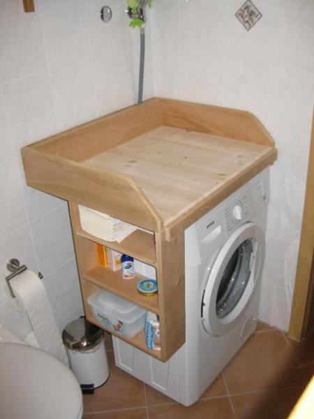 Waschmaschine Breite verkaufe geschreinerten aufsatz für die waschmaschine- maße: 74 cm