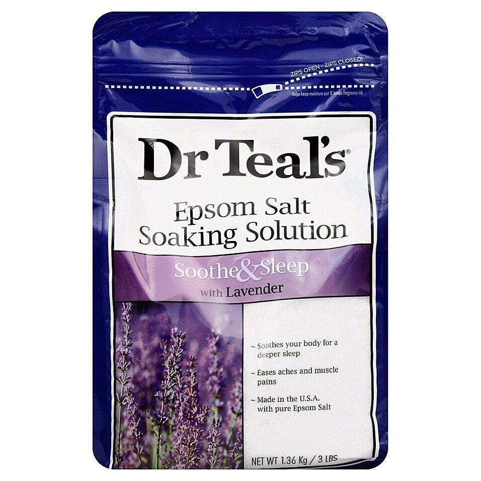 Dr. Teal's Therapeutic Solutions 48 Oz. Epsom Salt Sleep