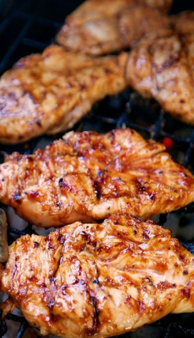 3-Ingredient Italian BBQ Chicken