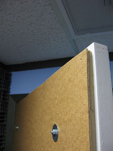 How To Soundproof A Door With Images Sound Proofing Door Sound Proofing Soundproof Room Diy