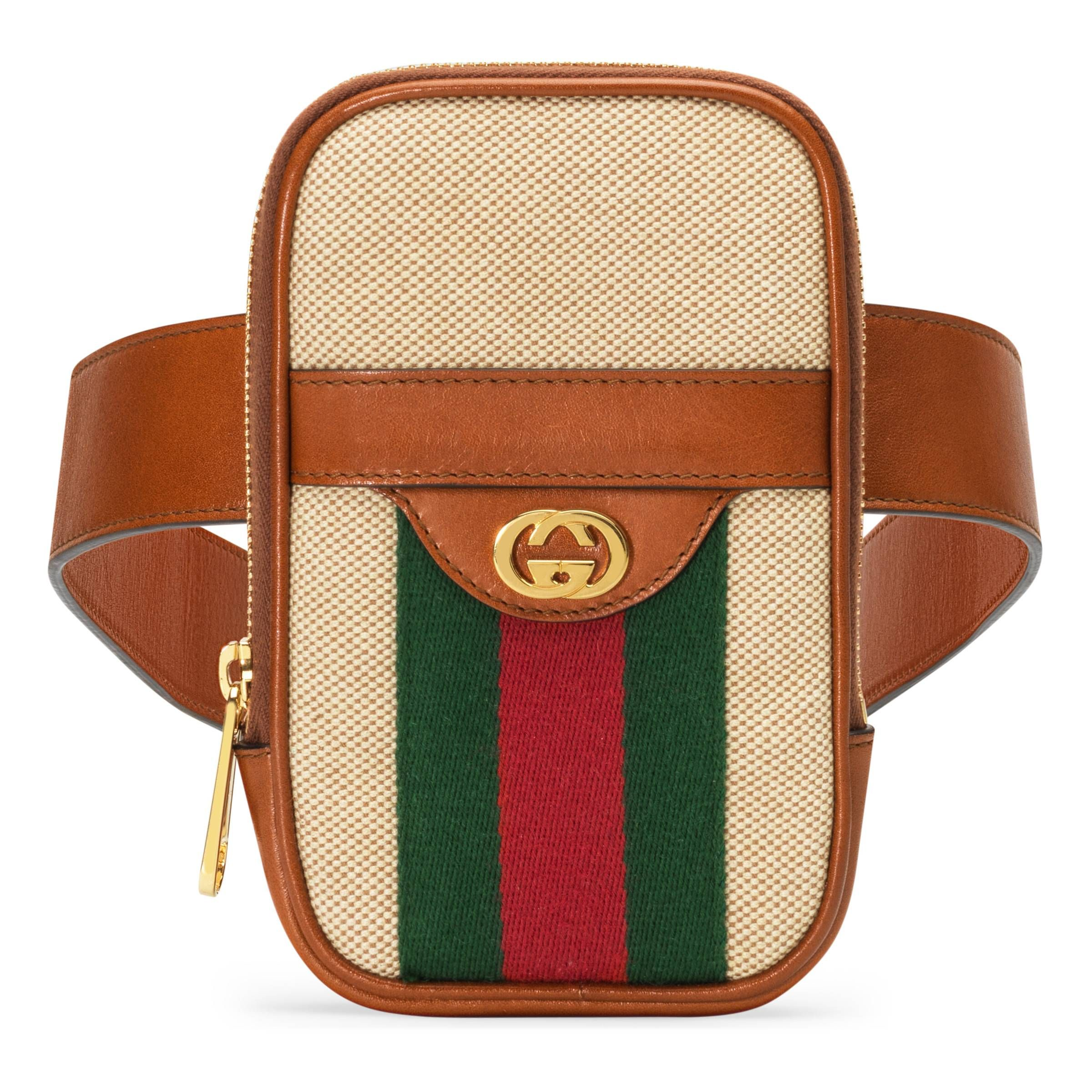 new arrival ed3b6 aa710 GUCCI VINTAGE CANVAS BELTED IPHONE CASE. #gucci | Gucci in 2019 ...