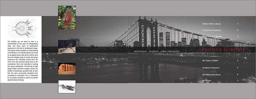 Professional architectural portfolio portfolio guide for Architecture portfolio