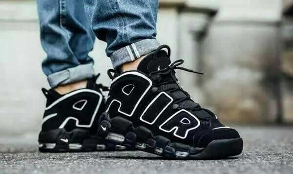 detailed look 9df9e b1029 Nike Air More Uptempo (on feet)