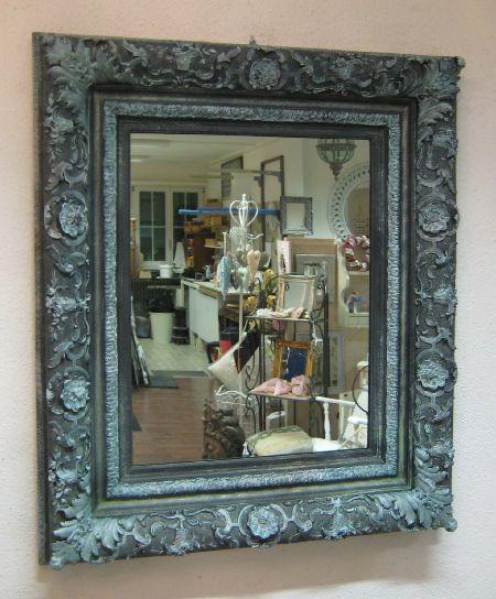 Spiegel Antik Ca 150 Jahre Alter Wuchtiger Barock Spiegelrahmen