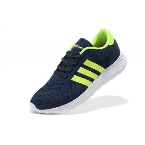 premium selection 8f142 1f7b4 2015 Adidas Neo Lite Racer NavyFluorescent Gul Joggesko Shop