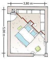 Photo of Diagonal Geteiltes Schlafzimmer Diagonal Geteilt # Diagonal #Geteilt #Schlaf …