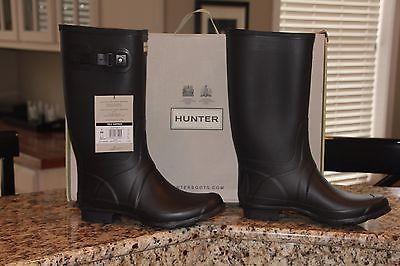 7f455cba123 Hunter Field Huntress Womens Wellies Wide Calf Wellington Boots Size ...