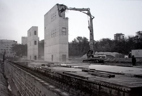 Zumthor's Topography of Terror Museum demolished . Maas