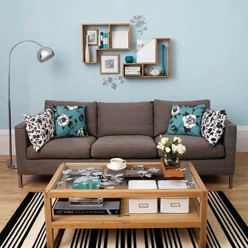 Teal Brown Living Room Ideas Teal Living Rooms