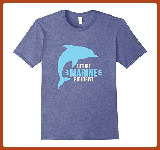 Mens Future Marine Biologist Career Aspiration T-Shirt 2XL Heather - marine biologist job description