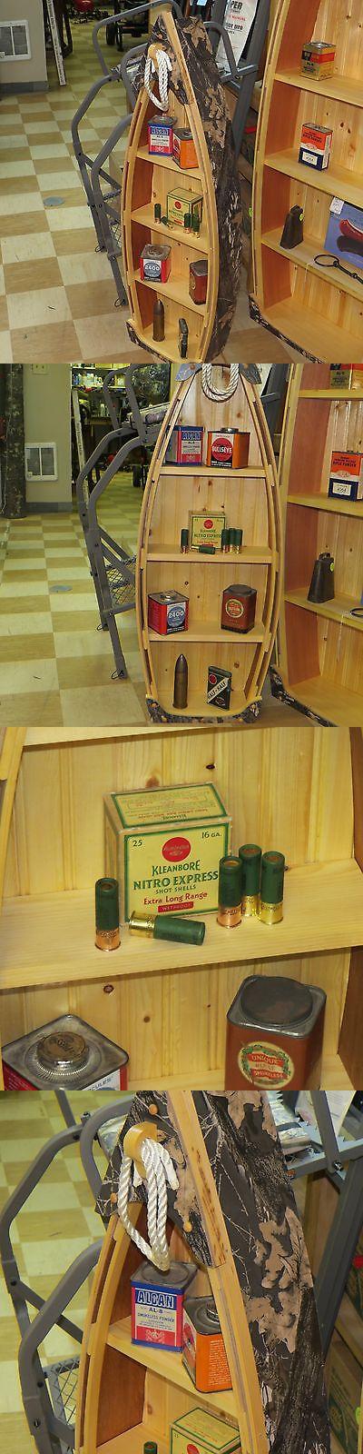 Wall Shelves 45501: Awesome Wood Canoe Book Shelf 45 X 15 ,Mossy Oak ...