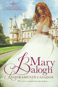 Livro Ligeiramente Casados, de Mary Balogh
