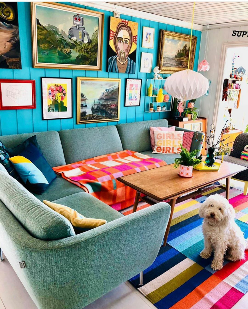 Currently crushing on the teal backdrop specially made for the fab prints via   @polkadotingrid @eclectically_made ☺️📸🌈 . . . #eclectichome #thrifteddecor #eclecticallyspeaking #eclecticinterior #interiors #dailydecordetail  #interiordesign #interiorinspo #instadesign #instainspo #homedecor #howivintage #homeinspo #pimpmypad #mymodernhome #decorcontest #decorhashtagfeed #interiorscompetition #myhomevibe  #hashtagcompetition  #realhomes #apartmenttherapy #designsponge #inmydomaine #homeinspirat