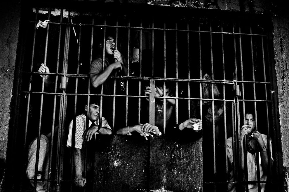 Valerio BISPURI ::Prison inmates in Santiago, Chile. Prisons of South America [Sony Awards 2013]