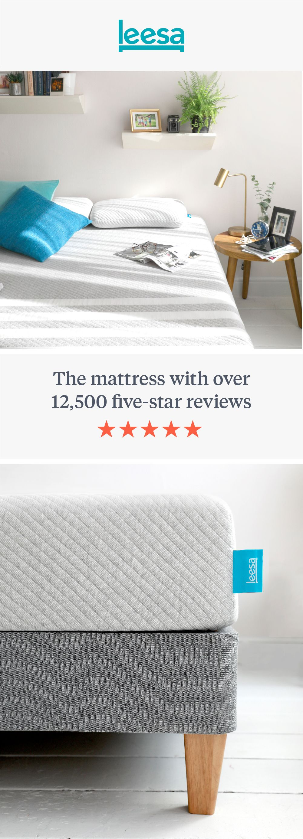 Leesa Mattress With 12 500 Five Star Reviews Living Room Decor Rustic Home Decor Bedroom Leesa Mattress