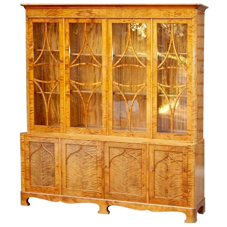 Swedish Art Deco-Biedermeier Revival Storage Cabinet ...