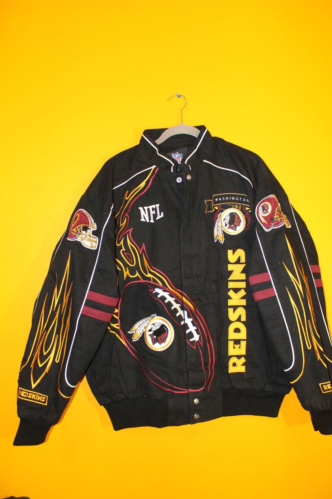 New NFL Washington Redskins Narscar style flame twill