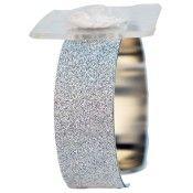 Glimmer Corsage Cuff - Silver