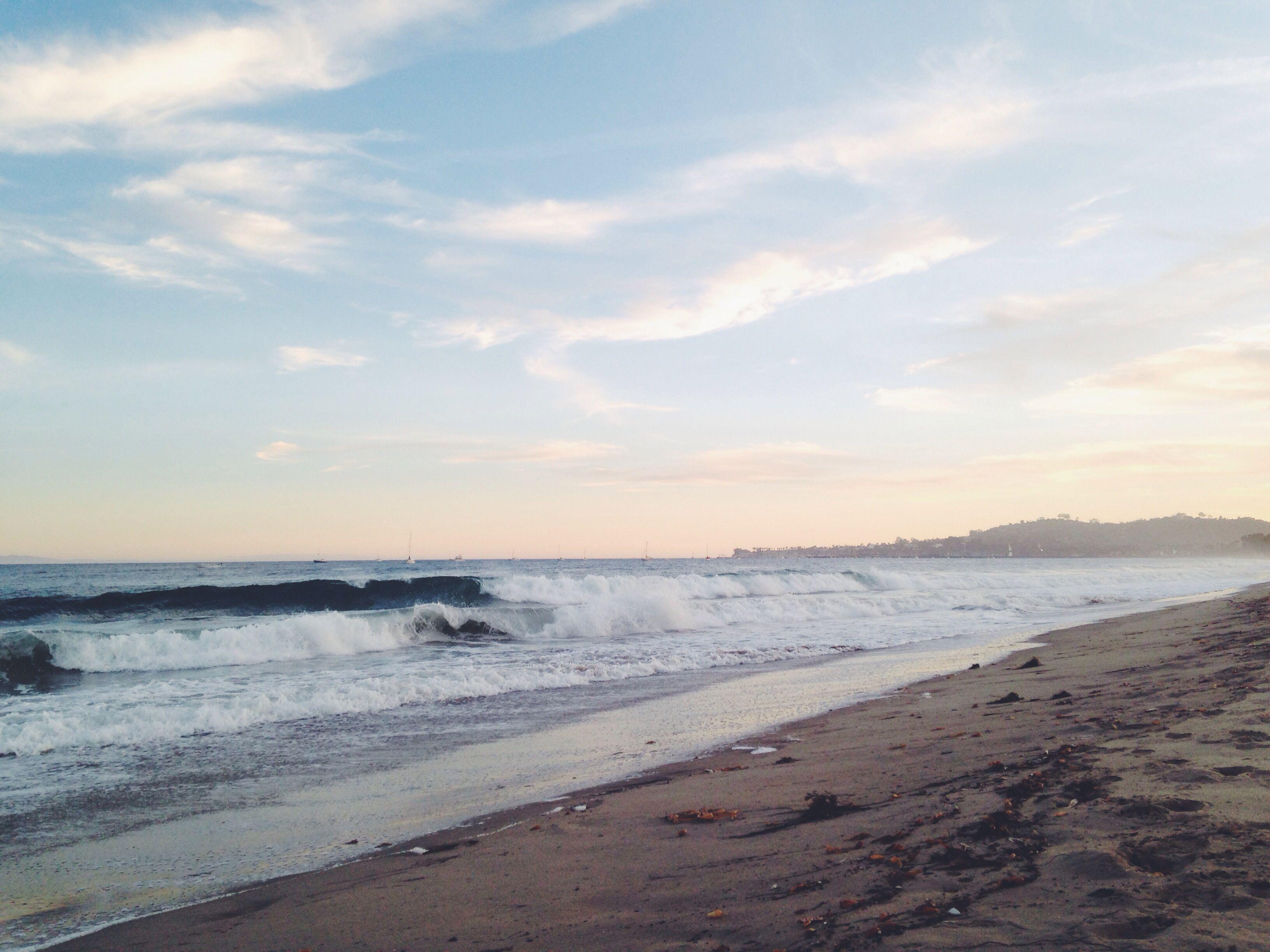 Leadbetter Beach Santa Barbara CA | Beautiful places