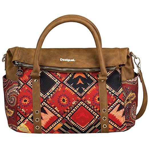 Boho Trends Desigual Bols Loverty 33 CmHandtaschen Handtasche NOm8w0vn