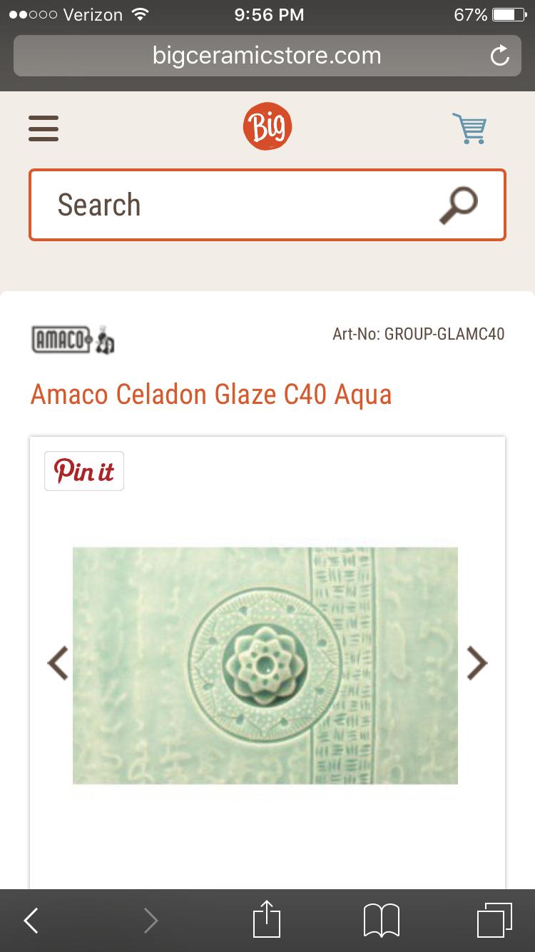 Pin By Nekia Kiker On Pottery Aqua Amaco Celadon