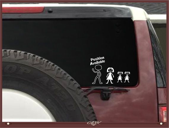 Nobody cares about your stick figure family vinyl decal sticker Jason humor dope