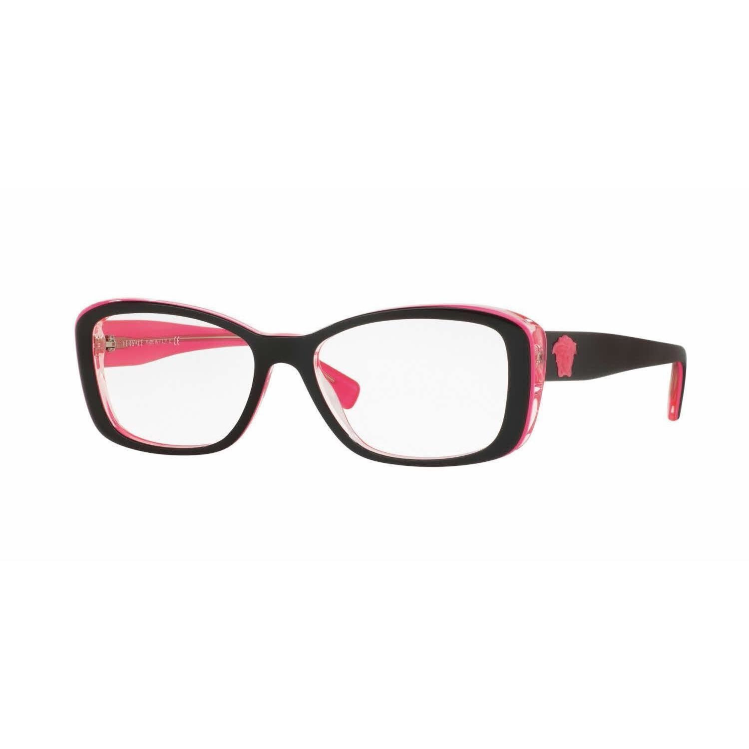 Versace Womens VE3228A 5190 Rectangle Eyeglasses | Products | Pinterest