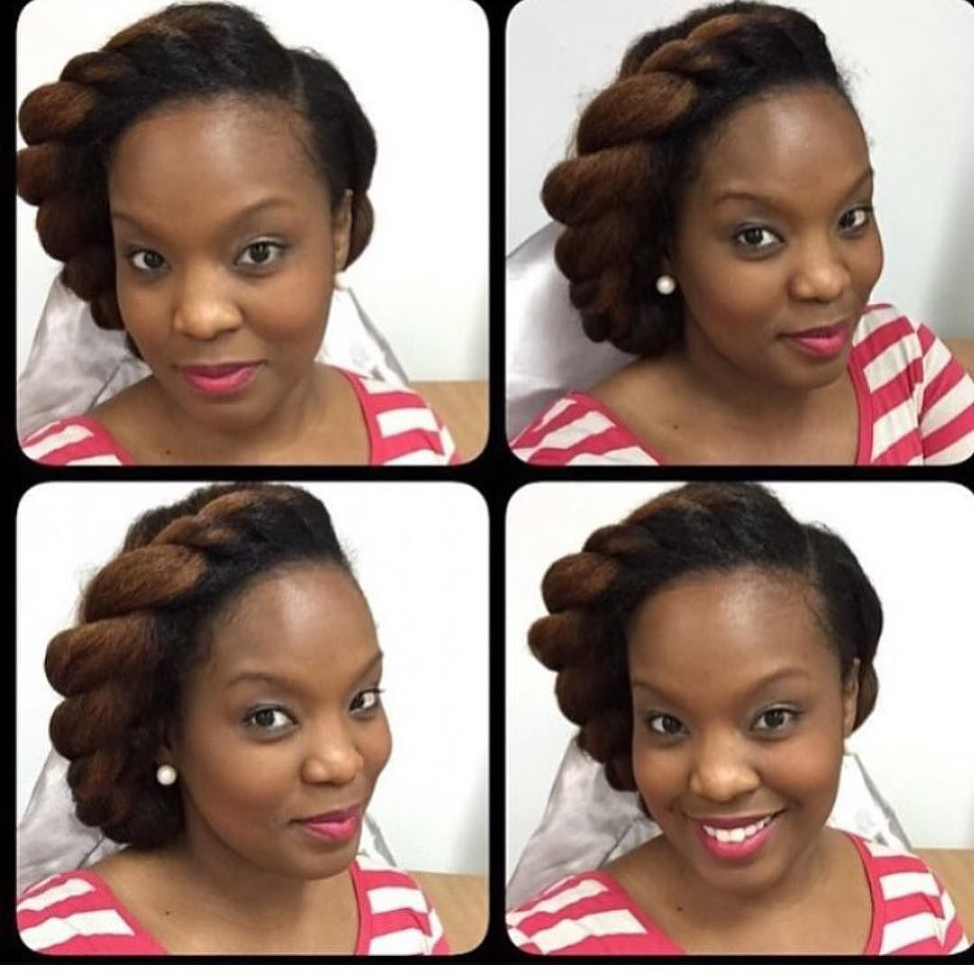 CWK Queen @mrshairtoday2012 Simple but quick! Fab Five Hair by cwkgirls