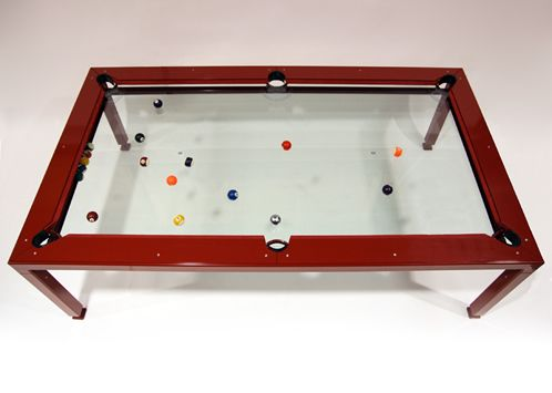 Nottage Design   Pool Tables   G 4 Glass Top Billiard Table (glass Is