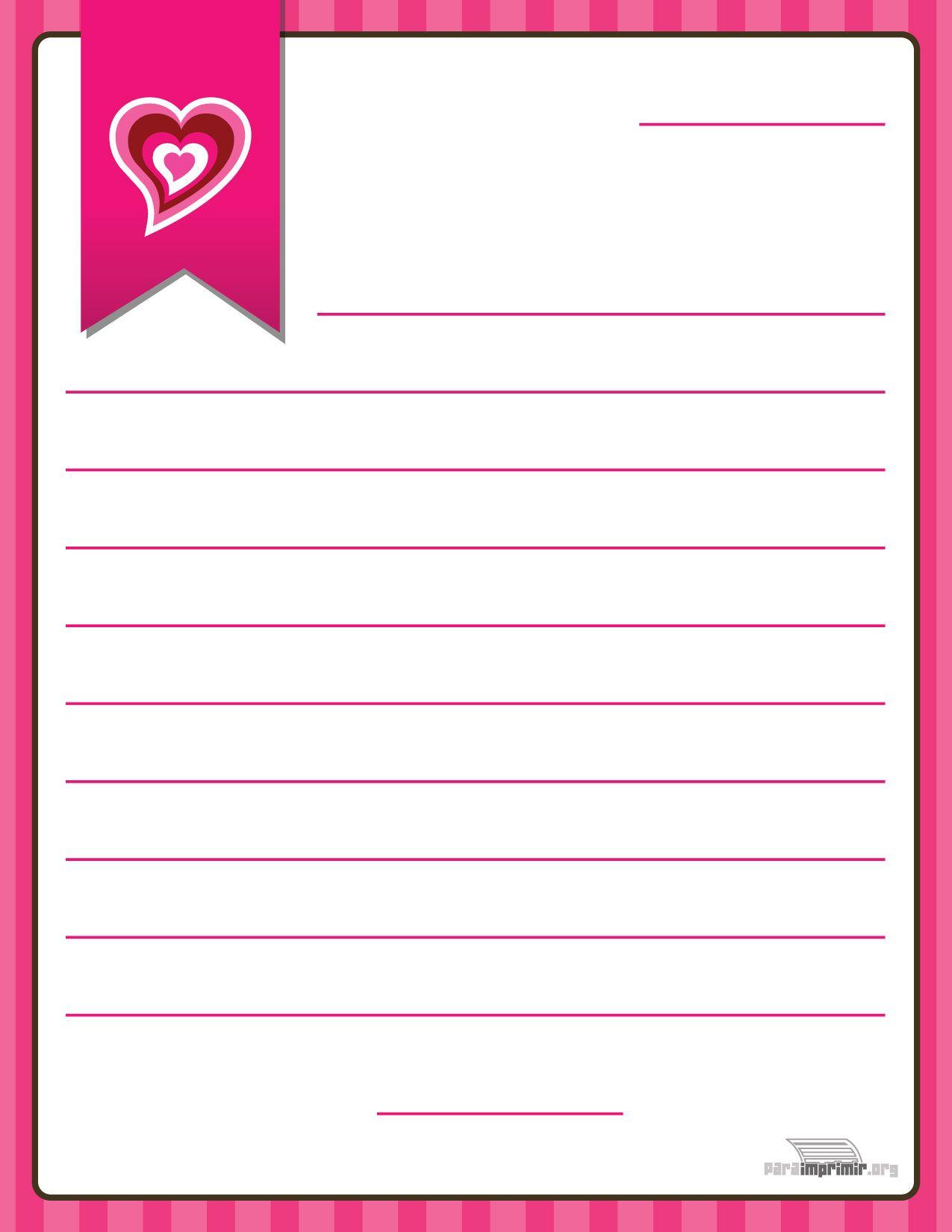 Fondos para cartas de amor para imprimir