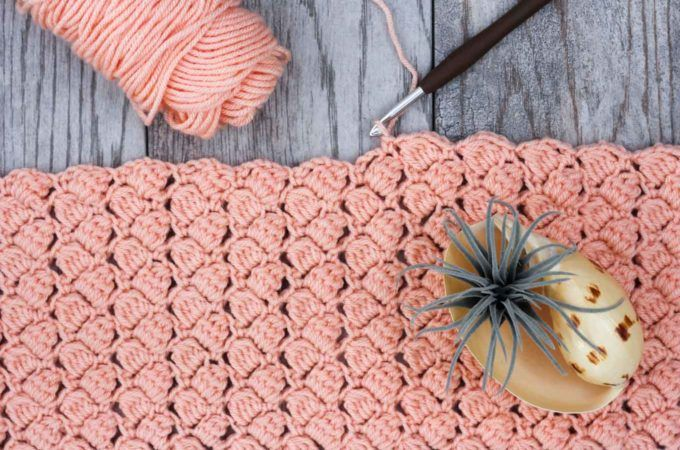 25+ Crochet Stitches For Blankets and Afghans | Puntadas de ...