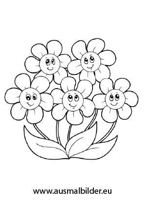Ausmalbild Blumchen Blumen Ausmalbilder Ausmalbilder Ausmalen