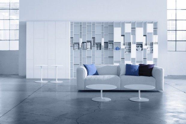 1000 images about canap on pinterest - Salon Bleu Marine Et Blanc