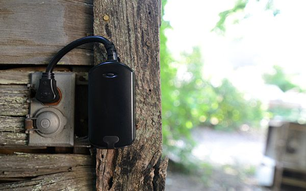 Smart Things recommends this out-door controllable outlet. GE ...