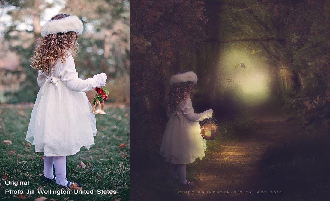 Before & After - Cindys DigitalFantasyArt