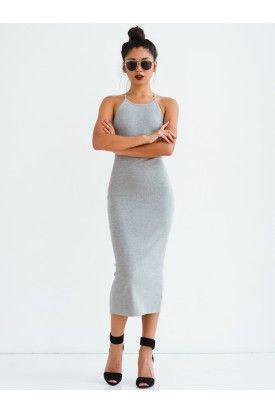Gray Stone Dress