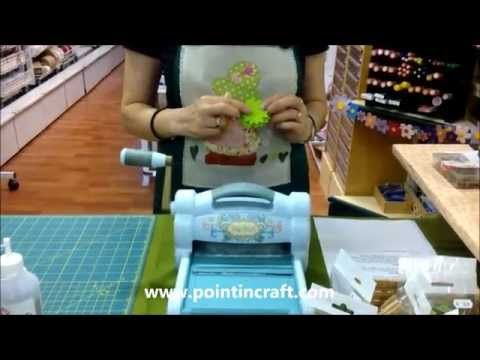 TUTORIAL BIG SHOT SIZZIX in Italiano | Fustelle da taglio in metallo e embossing - YouTube