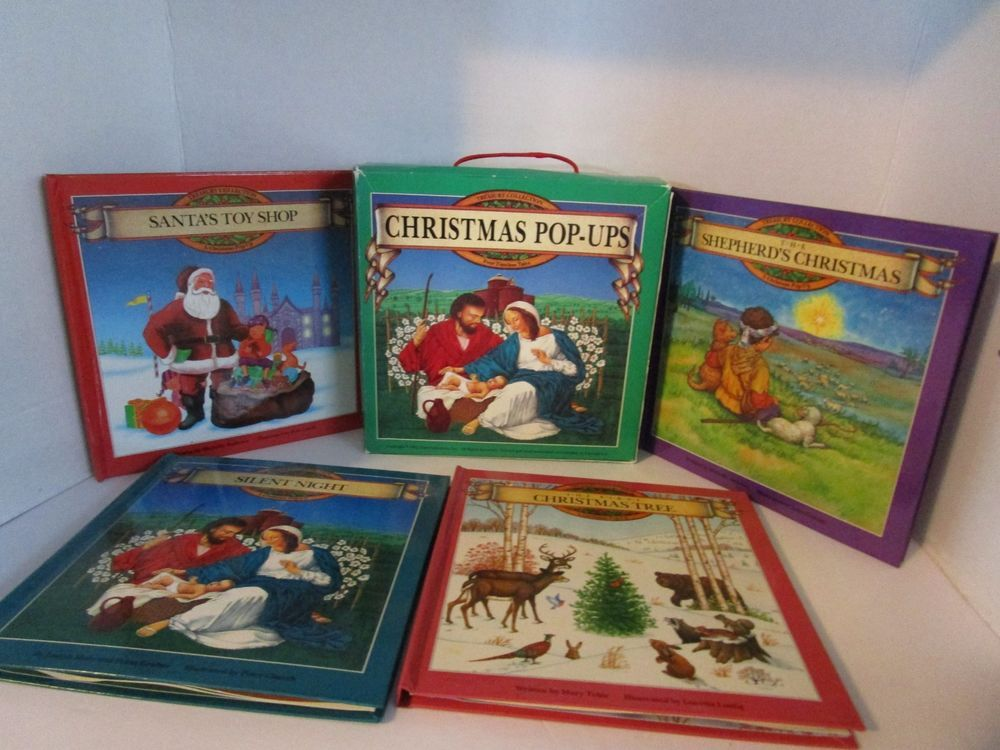 Treasury Collection 4 Christmas PopUps Timeless Tales