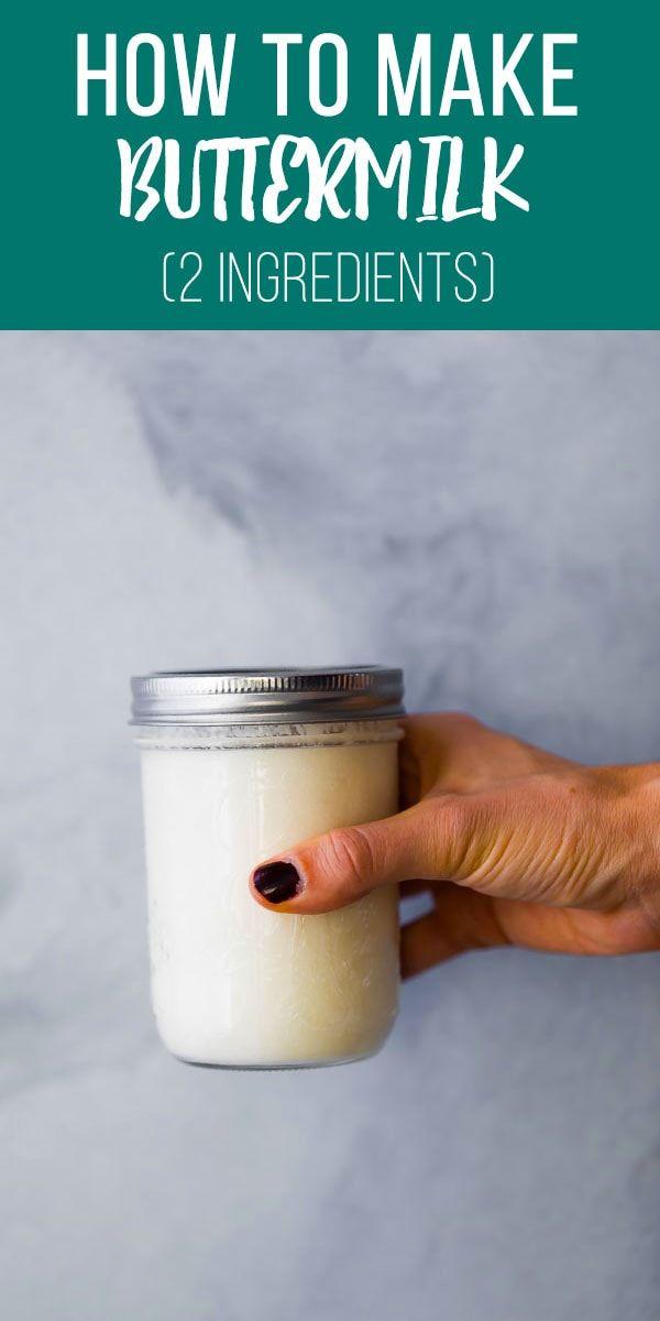 How To Make Buttermilk Sweetpeasandsaffron Com Recipe In 2020 How To Make Buttermilk Buttermilk Homemade Buttermilk