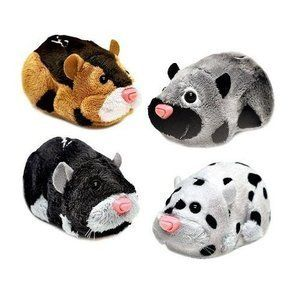Zhu Zhu Pets 4 Pack rocky moo tex and spottie. I have tex