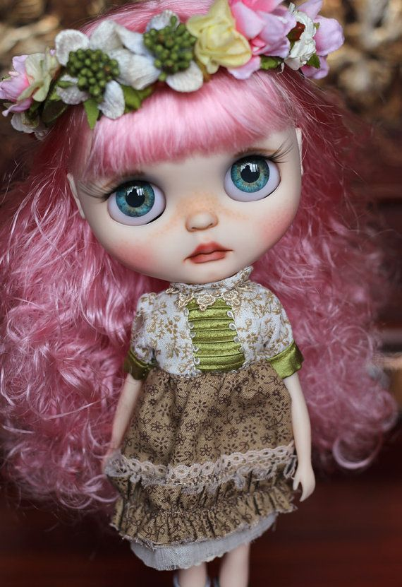 Custom Blythe Art OOAK Doll -Simona- by Atelierbyd - Offers are welcome :)