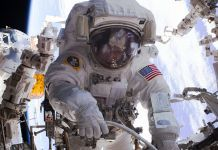 20170330 Peggy Whitson, the world's oldest & most experienced spacewoman, just spacewalked into history.
