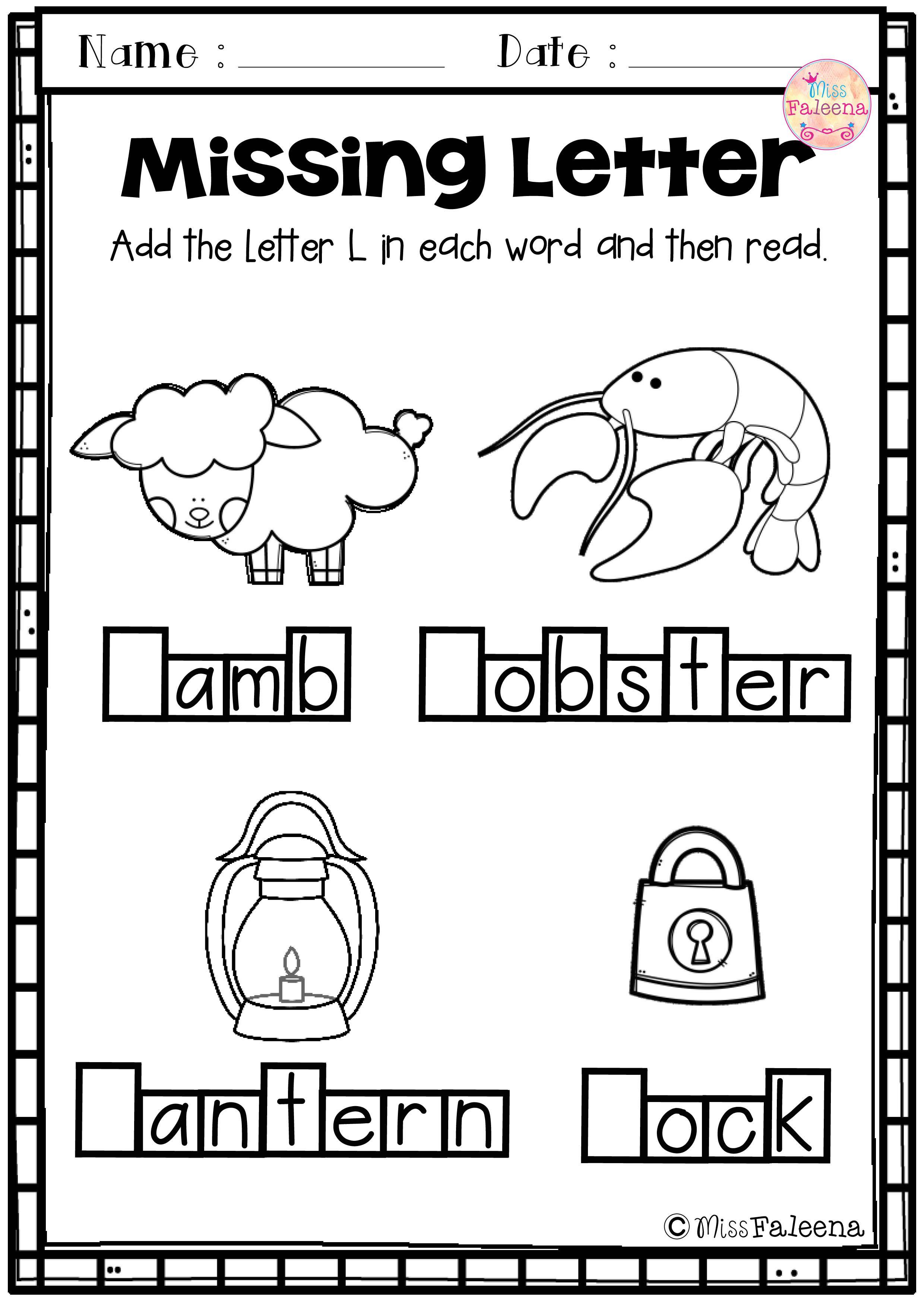 Alphabet Letter Of The Week L Letter L Kindergarten Worksheets Lettering [ 3507 x 2480 Pixel ]