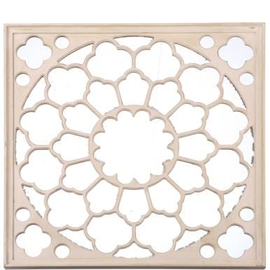VITRAGE Mirror with stained-glass window look 127 x 5 x 127 cm - Lifestyle & Interiors