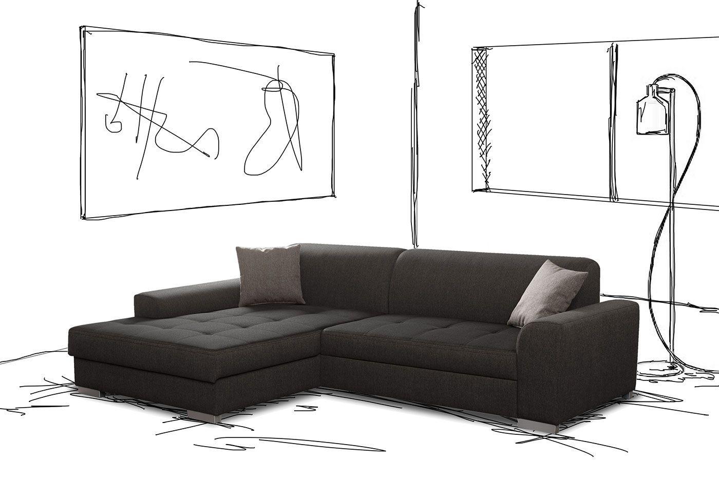 icÔne canape d'angle convertible de la couture au design. le célèbre