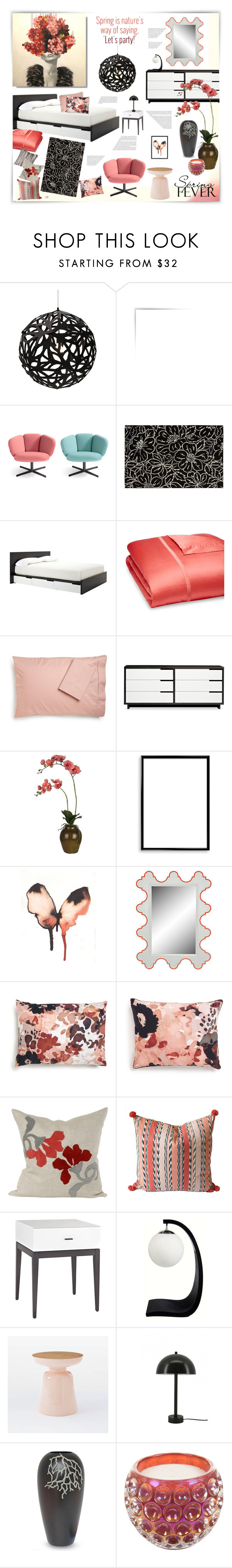 """Untitled #978"" by louise-stuart ❤ liked on Polyvore featuring interior, interiors, interior design, home, home decor, interior decorating, David Trubridge, Blu Dot, Matouk and Sonia Rykiel"