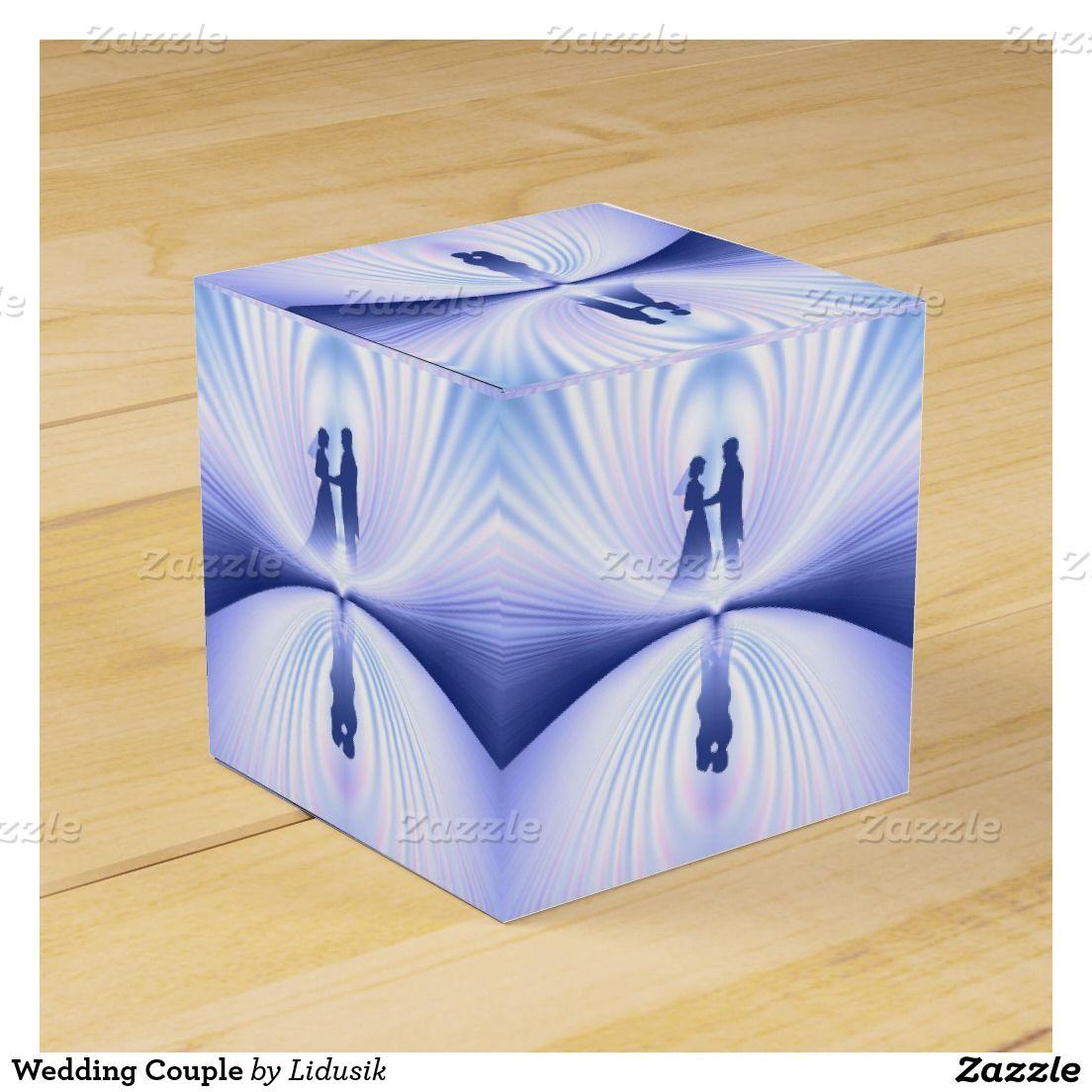 Wedding Couple Favor Box