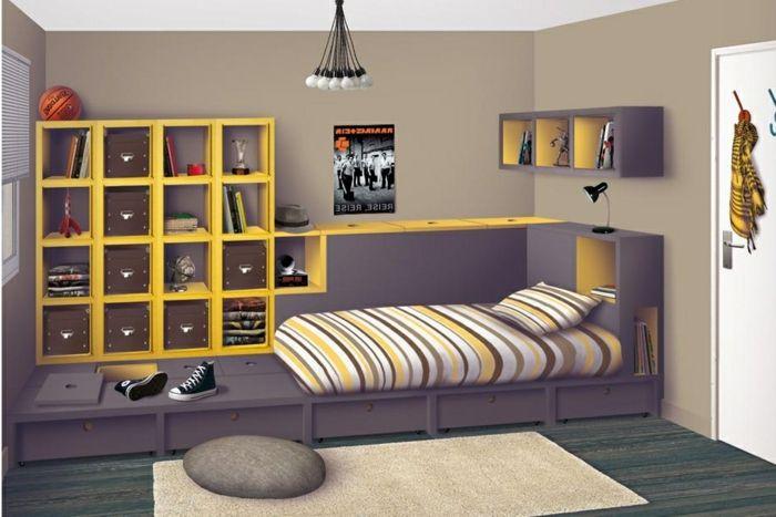 La chambre ado fille - 75 idées de décoration - Archzinefr Room
