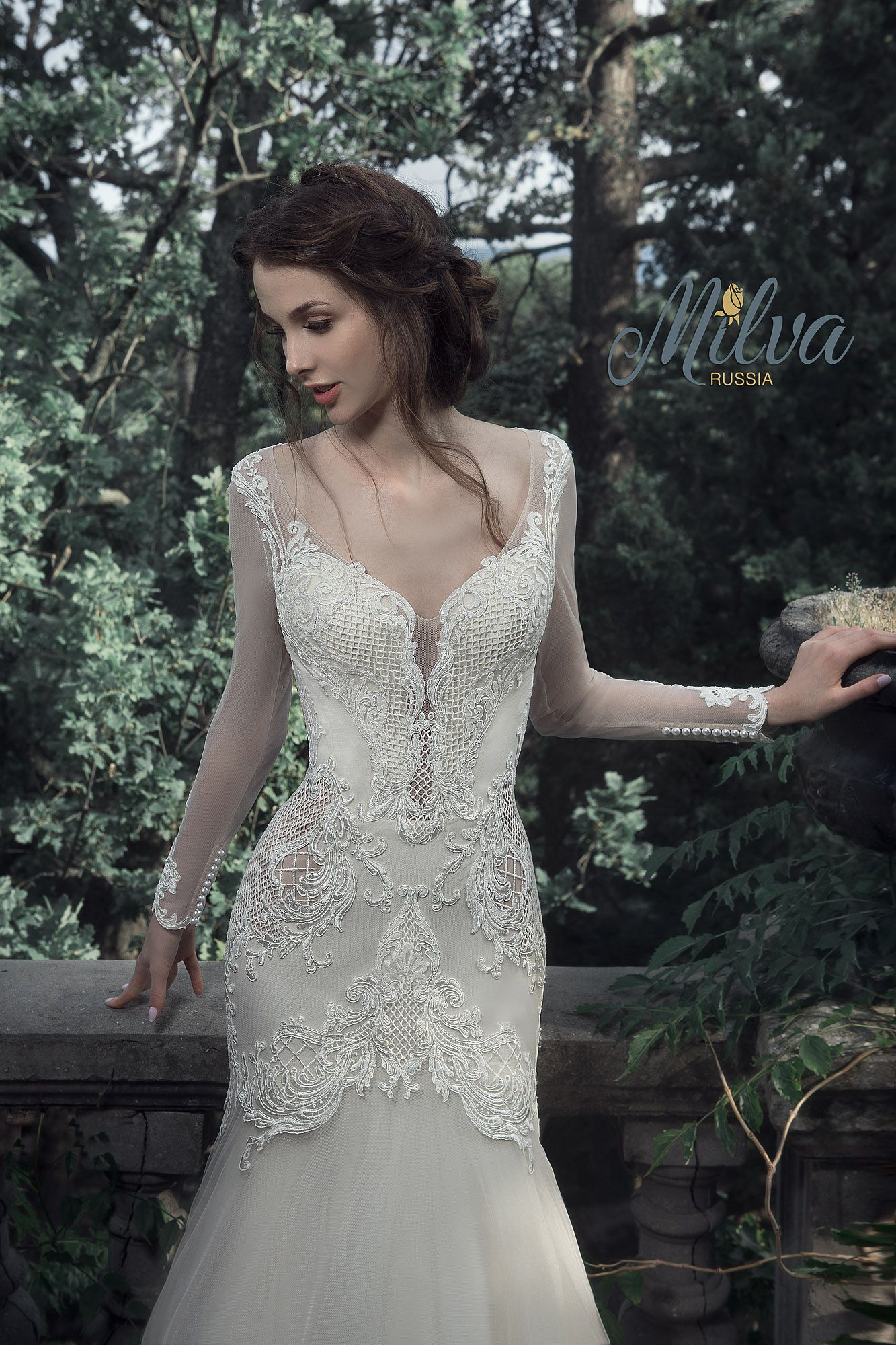ISABELLE Wedding Dress By MILVA Designer In Charme Gaby Bridal Gown Boutique Tampa Bay 130000
