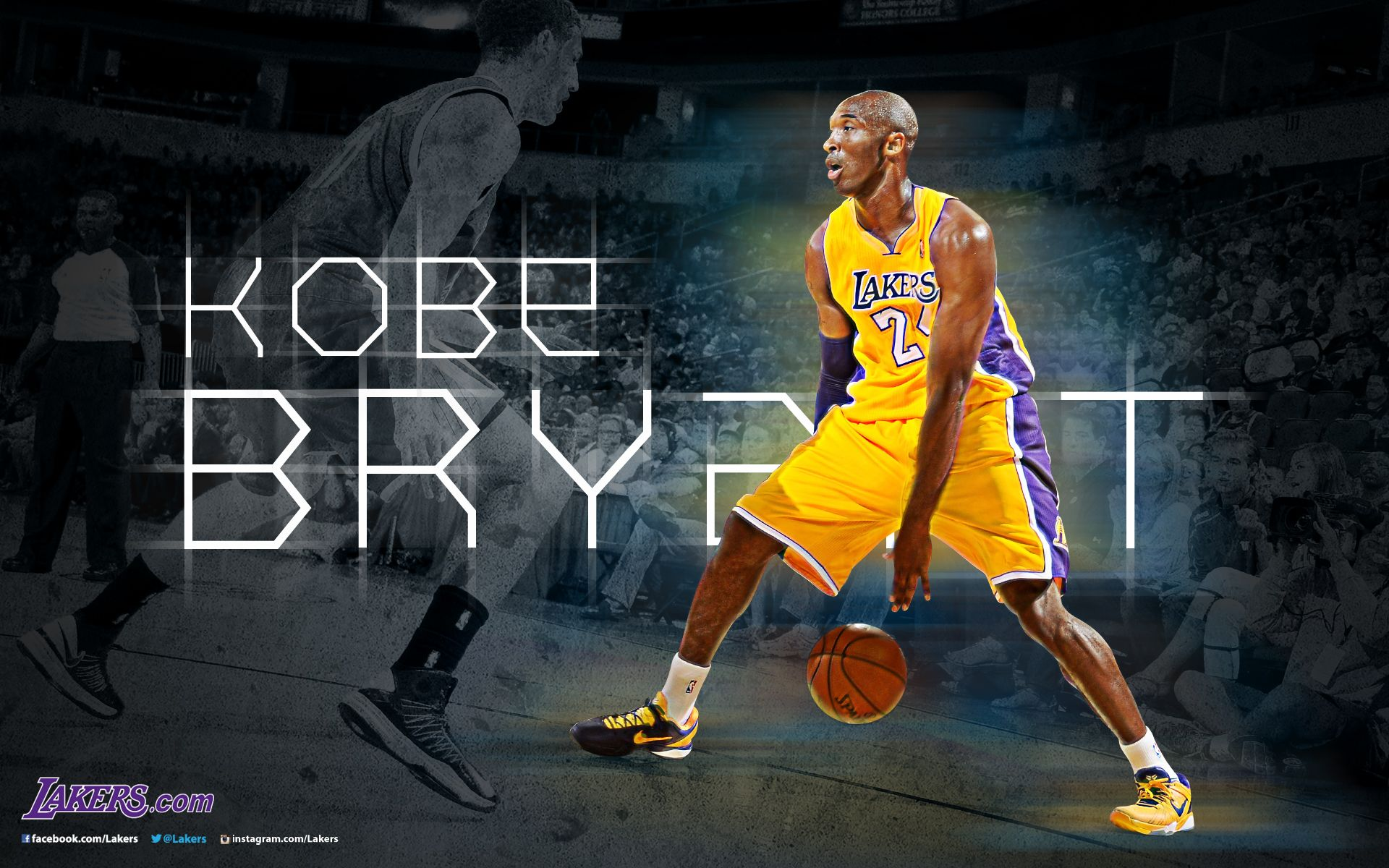 Lakers wallpapers and infographics kobe shooting guard and kobe lakers wallpapers and infographics voltagebd Image collections